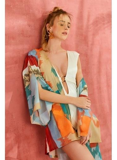 Aquella Kimono Renkli
